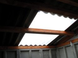 corrugated translucent roof panels
