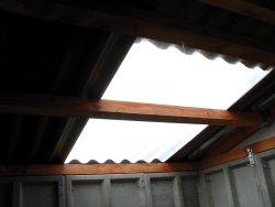 corrugated translucent roof panels