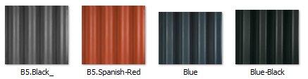 fibre-cement optional roof colours
